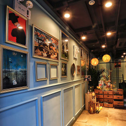 V+COFFEE装饰墙设计图