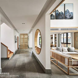 日式别墅过道设计图