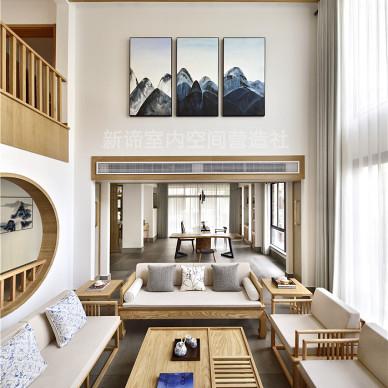 日式別墅客廳設計圖