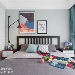 120平方北欧三居卧室设计图