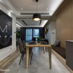 150㎡现代风格餐厅设计