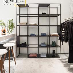 《 Bubble ☆ 》服装店展示柜设计图