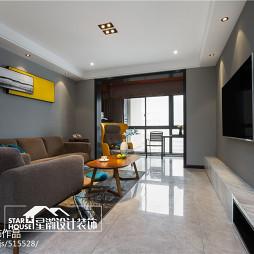 简约四居客厅设计效果图