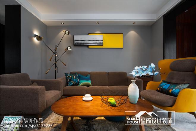 简约四居客厅设计图片