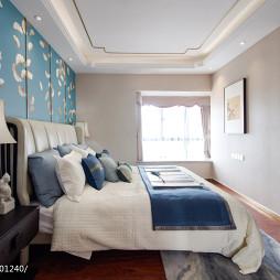 传统中式三居卧室设计图