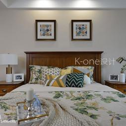 美式别墅卧室设计效果图片