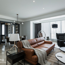 豪华现代四居客厅沙发设计图