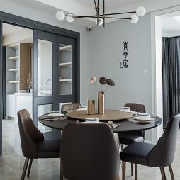 豪华现代四居餐厅设计图片