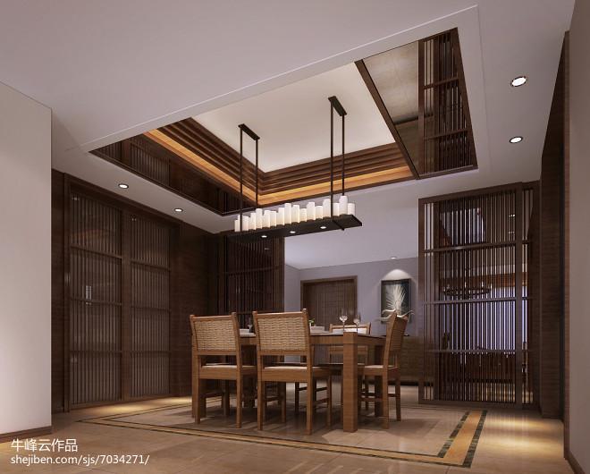 海南国瑞样板房设计东南亚风格_296