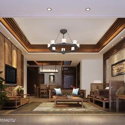 海南国瑞样板房设计东南亚风格_2965037