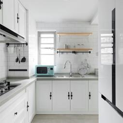浪漫北欧三居厨房设计图