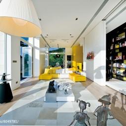 特色现代别墅客厅设计图