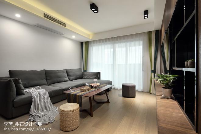 北欧风三居客厅设计图