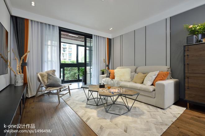 独特现代二居客厅设计图片