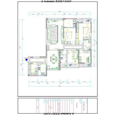 章江花园7栋06户型-新中式设计,骨子里的逆天_2968725