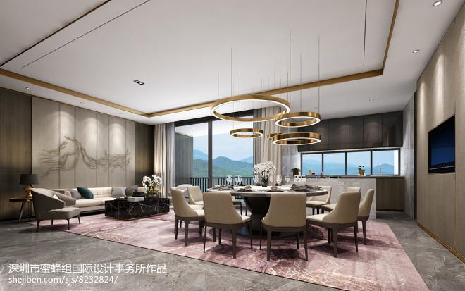 深圳蜜蜂组室内设计—深圳山语清晖花园