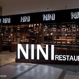 NINI意大利餐厅大门设计图