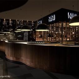 NINI意大利餐厅吧台设计图