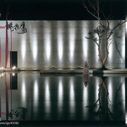 山中桃花源中餐厅水池设计图