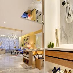 简单混搭售楼处鞋架设计图
