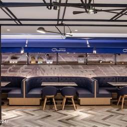 港丽餐厅卡座设计图片