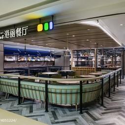 港丽餐厅大门设计图