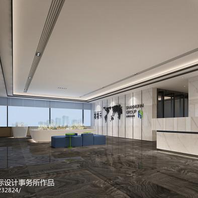 深圳蜜蜂组室内设计—深圳山湖海地产总部办