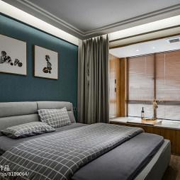 清新现代三居卧室设计图片