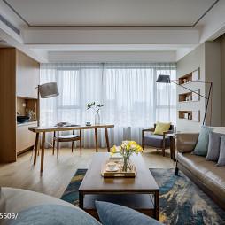 个性现代三居客厅设计图