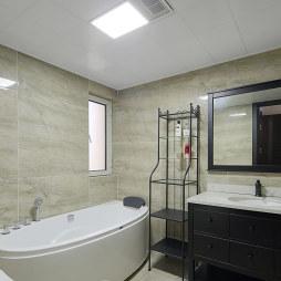120㎡北欧公寓卫浴设计图