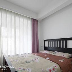 120㎡北欧公寓卧室设计图