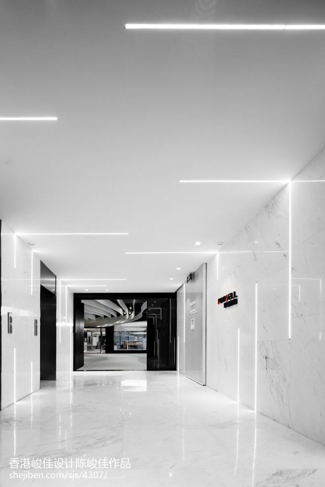 pinwell创意办公室展厅走廊设计