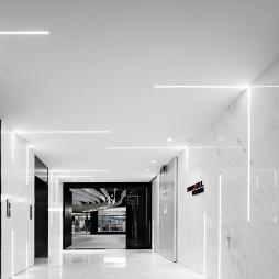 pinwell创意办公室展厅走廊设计图片