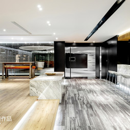 pinwell创意办公室展厅整体设计图