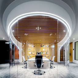pinwell创意办公室展厅会议室设计图