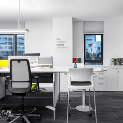 pinwell创意办公室展厅设计效果图