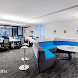 pinwell创意办公室展厅办公区设计图