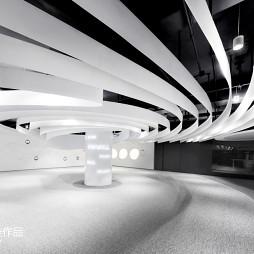 pinwell创意办公室展厅大堂设计图