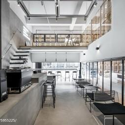 隐木咖啡厅整体设计图