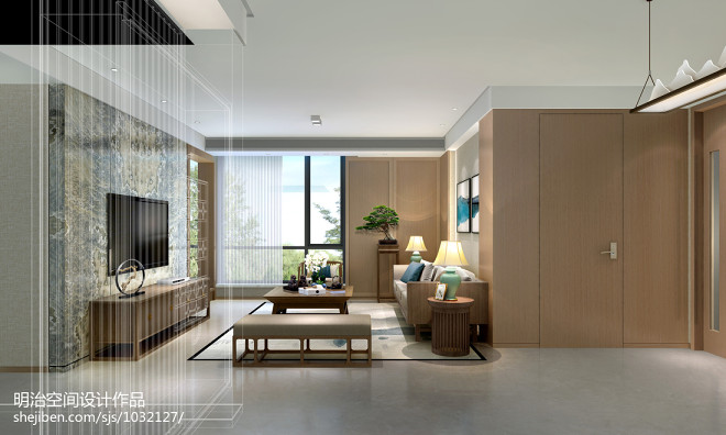 苏城北苑清新中式设计_2984944