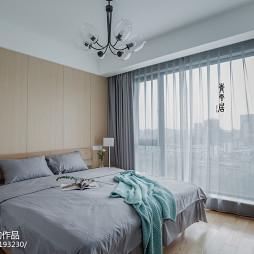 清新简约三居卧室设计图