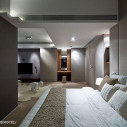明亮现代三居卧室设计效果图