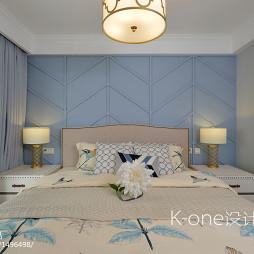 简约二居卧室设计效果图