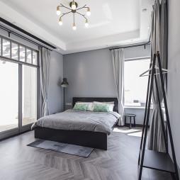 简约现代别墅卧室设计图