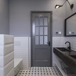 简约现代别墅卫浴设计效果图