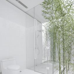 田园会所洗手间设计图