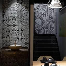 160㎡龙虾主题餐厅墙绘设计图