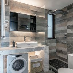 时尚现代三居卫浴设计图