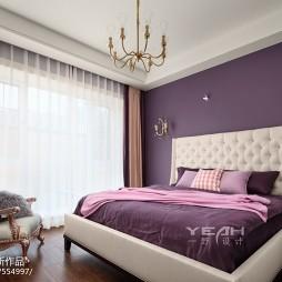 独特美式别墅卧室设计图