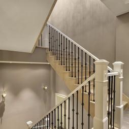 独特美式别墅楼梯设计图